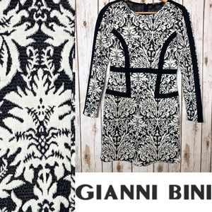GIANNI BINI Flattering Jacquard Dress